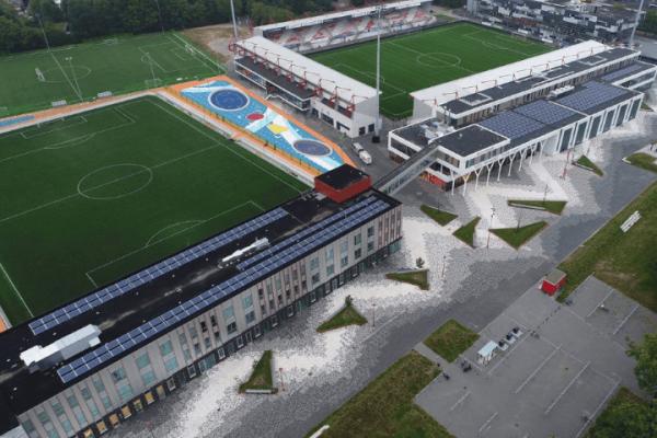 Fodbold stævne i Holland