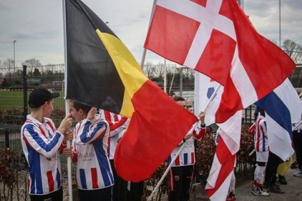 Fodboldstævne i Tyskland